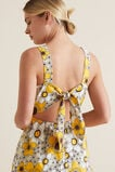 Retro Floral Hi-Lo Dress  VINTAGE FLORAL  hi-res
