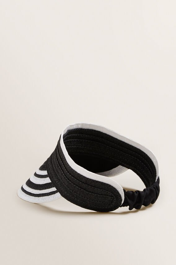 Amy Visor  BLACK/CREAM  hi-res