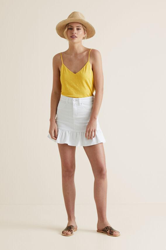 Easy Linen Singlet  GOLD RUSH  hi-res