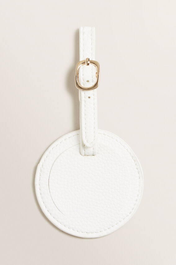 Luggage Tag  WHITE  hi-res