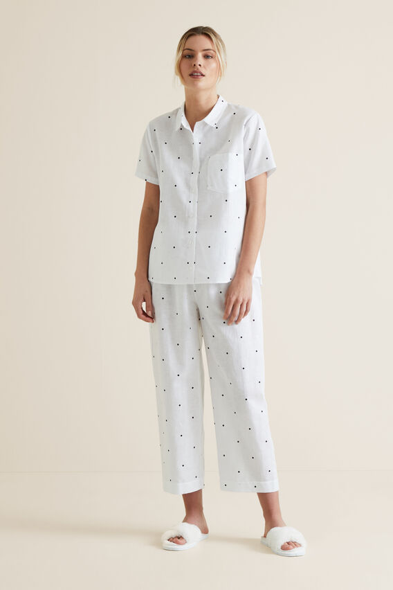 Sleep Short Sleeve Pant Set  SPOT  hi-res