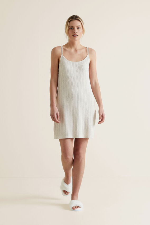 Sleep Rib Nightie  SANDSTORM  hi-res