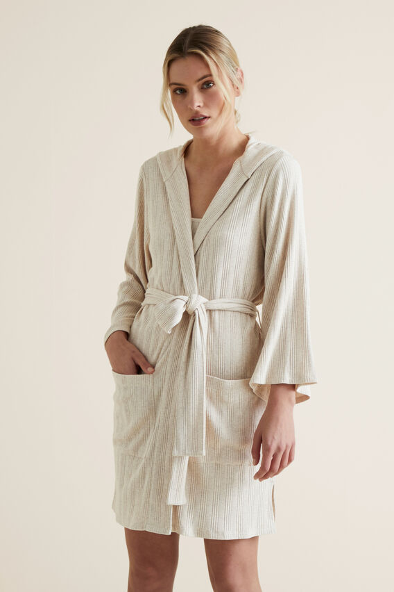 Sleep Rib Robe  SANDSTORM  hi-res