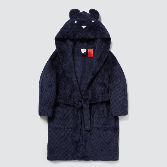 Bear Dressing Gown  MIDNIGHT BLUE  hi-res