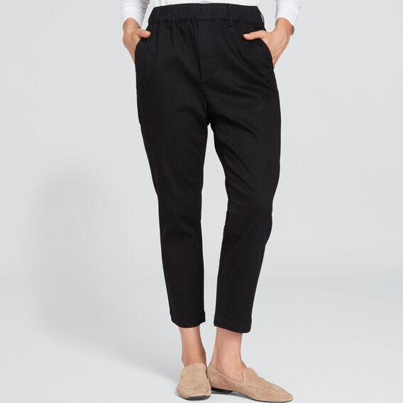 Casual Tapered Pant  BLACK  hi-res