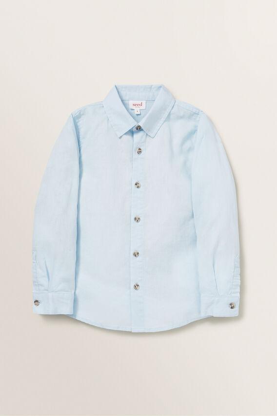 Linen Shirt  NORDIC BLUE  hi-res