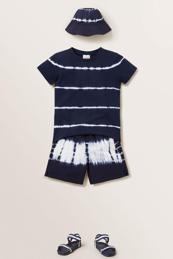 Tie Dye Short  MIDNIGHT BLUE  hi-res