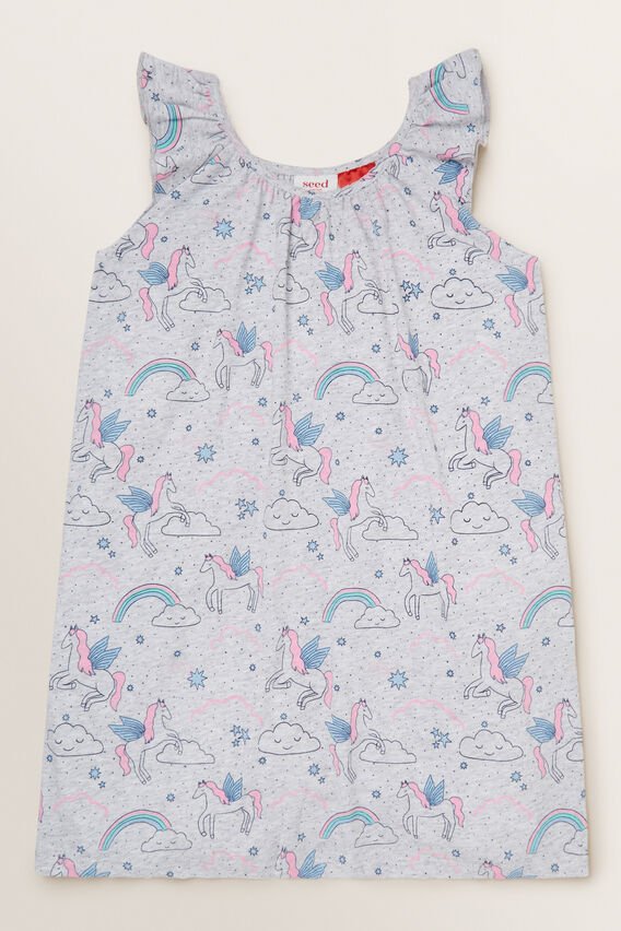 Unicorn Short Sleeve Nightie  CLOUD  hi-res