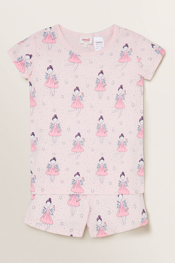 Fairy Short Sleeve Pyjama  ICE PINK  hi-res