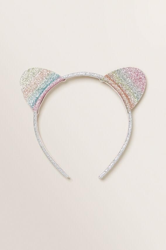 Glitter Ears Headband  MULTI  hi-res