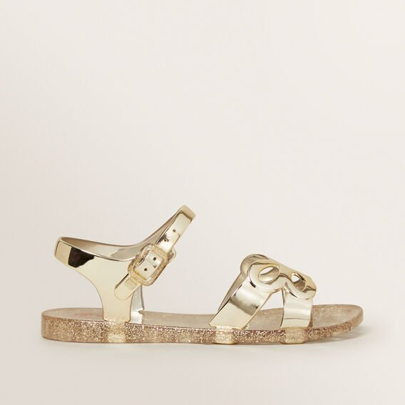 Butterfly Jelly Sandals  GOLD  hi-res