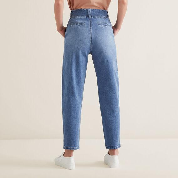 Tie Up Denim Pants  CLASSIC DENIM  hi-res