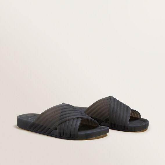 Laura Jelly Slide  BLACK  hi-res