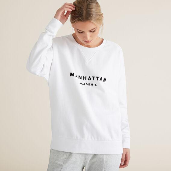Manhattan Windcheater  SNOW WHITE  hi-res