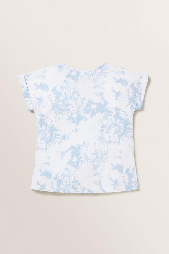 Tie Dye Tee  PALE BLUE  hi-res
