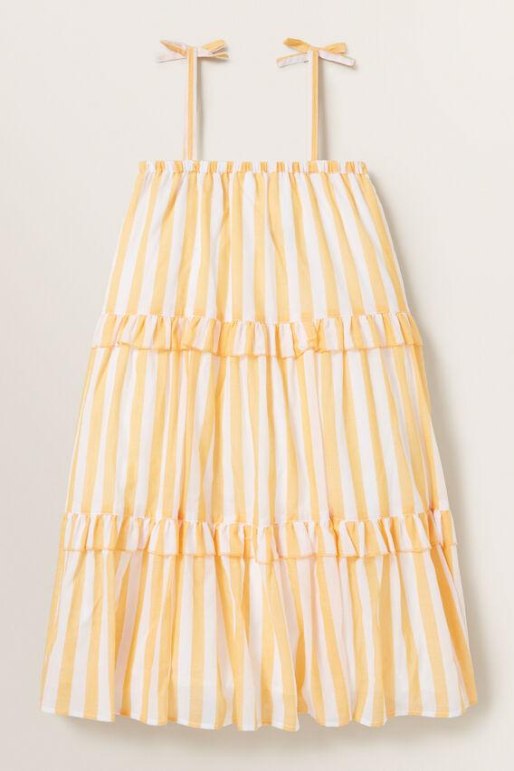Stripe Midi Dress  MARIGOLD  hi-res