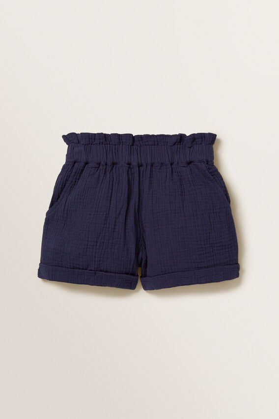 Cheesecloth Shorts  NAVY  hi-res