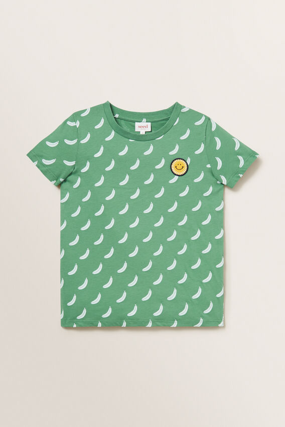 Banana Motif Tee  FOREST  hi-res