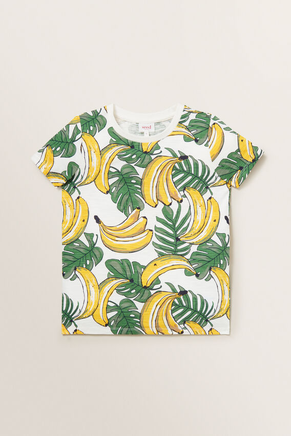 Tropical Tee  VINTAGE WHITE  hi-res