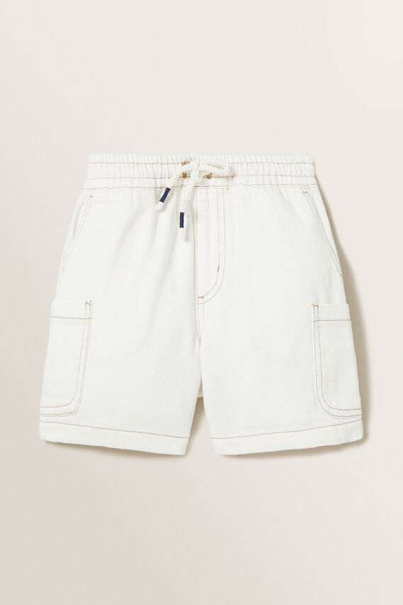 Denim Cargo Short  STONE  hi-res