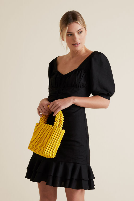 Mini Beaded Tote  GOLD RUSH  hi-res