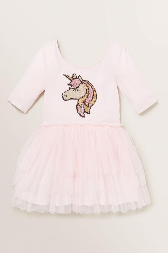 Unicorn Tutu Dress  ICE PINK  hi-res