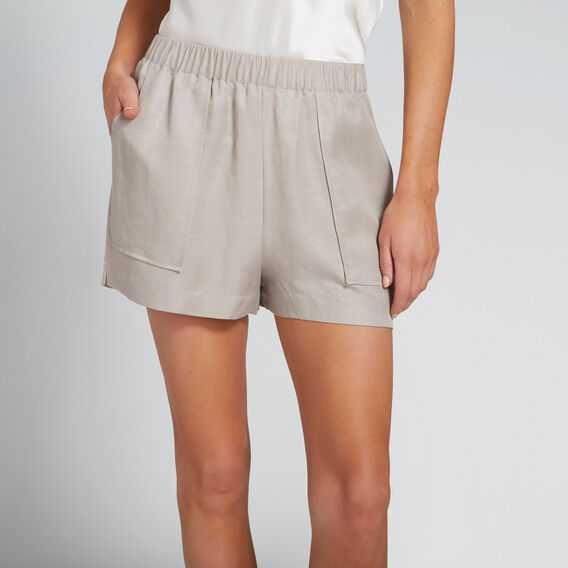 Stitch Pocket Short  GREY TAUPE  hi-res