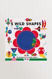 Wild Shapes Book, MULTI, hi-res