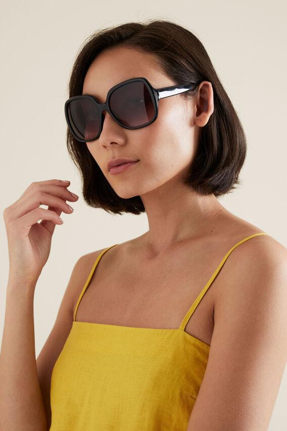 Tash Square Sunglasses  BLACK  hi-res