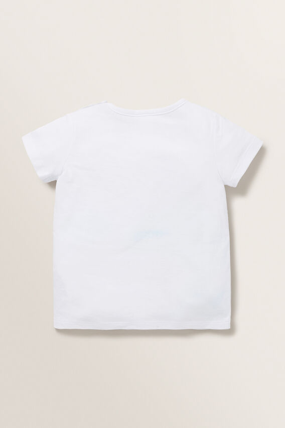 Mouse Pocket Tee  WHITE  hi-res