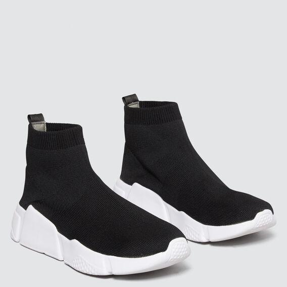 Sock Sneaker  BLACK  hi-res