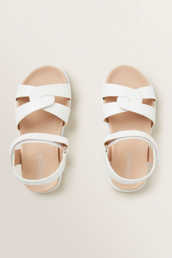 Party Sandal  WHITE  hi-res