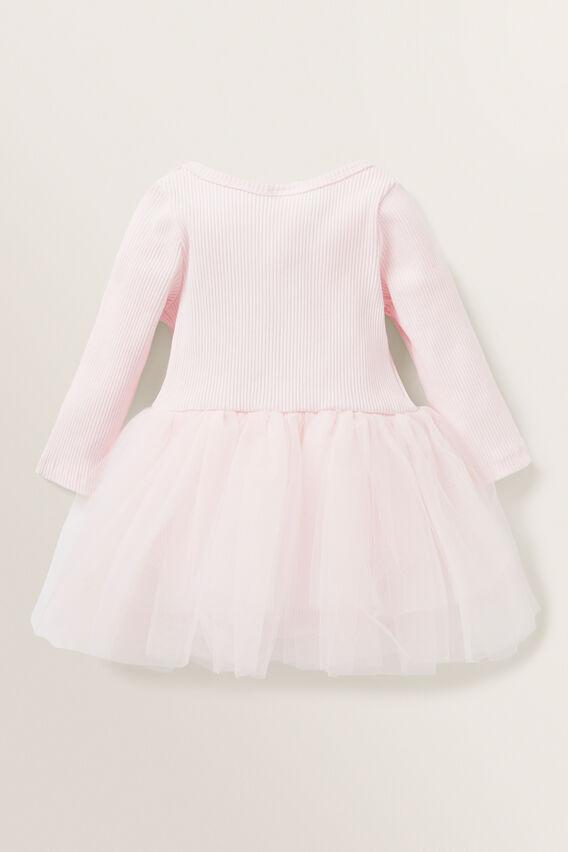 Ombre Rib Tutu Dress  ICE PINK  hi-res