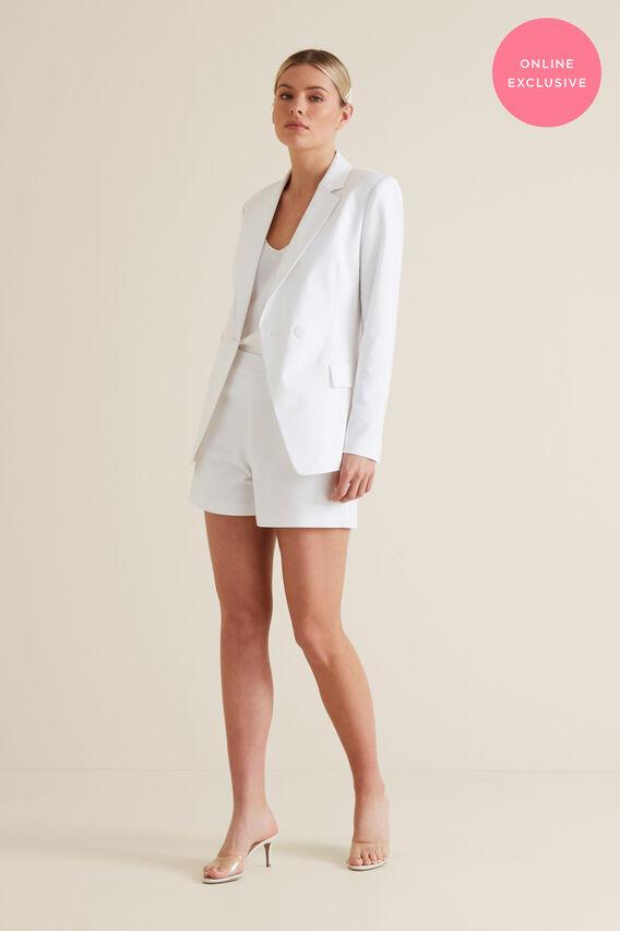 Suit Short  WHISPER WHITE  hi-res