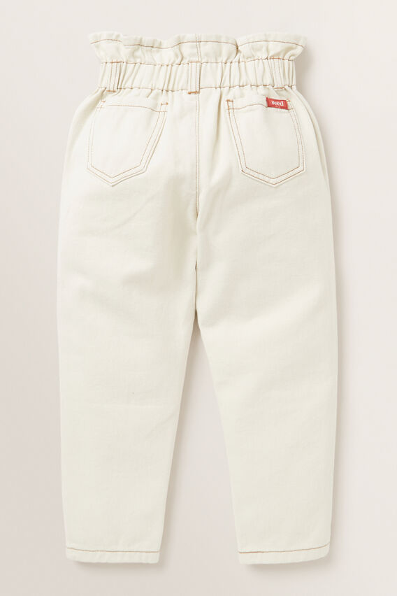 Elasticated Jeans  CREAM  hi-res