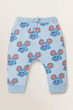 Mouse Trackpant, CLOUD BLUE, hi-res