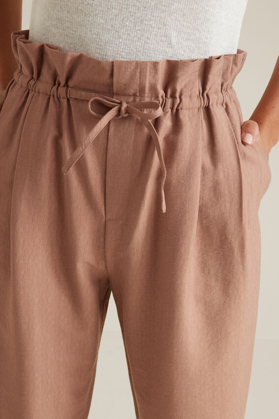 Paperbag Tie Up Pant  MOCHA MOUSSE  hi-res
