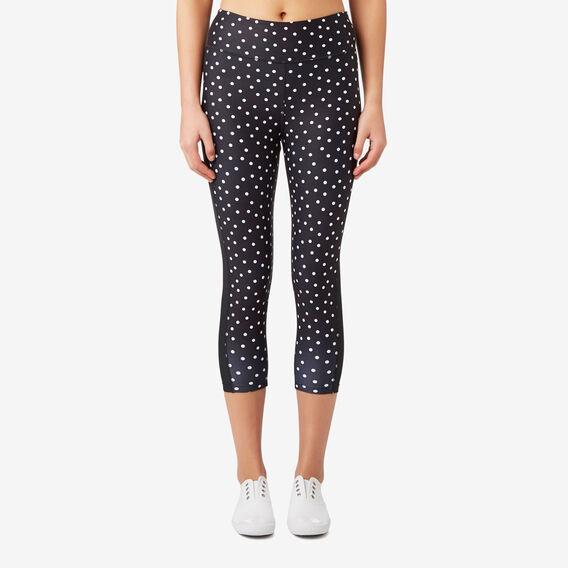 Polka Dot Legging  BLACK  hi-res