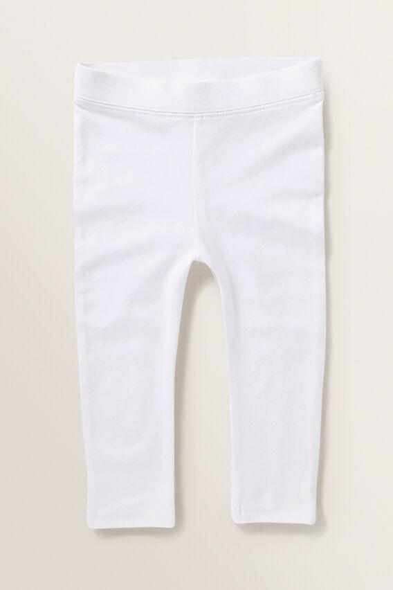 Basic Leggings  WHITE  hi-res