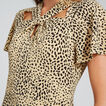 Animal Twist Dress  ANIMAL PRINT  hi-res