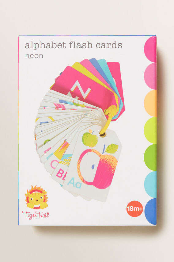 Alphabet Flash Cards  MULTI  hi-res