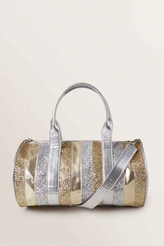 Metallic Duffle Bag  MULTI  hi-res