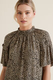 Ocelot Gathered Blouse  OCELOT  hi-res