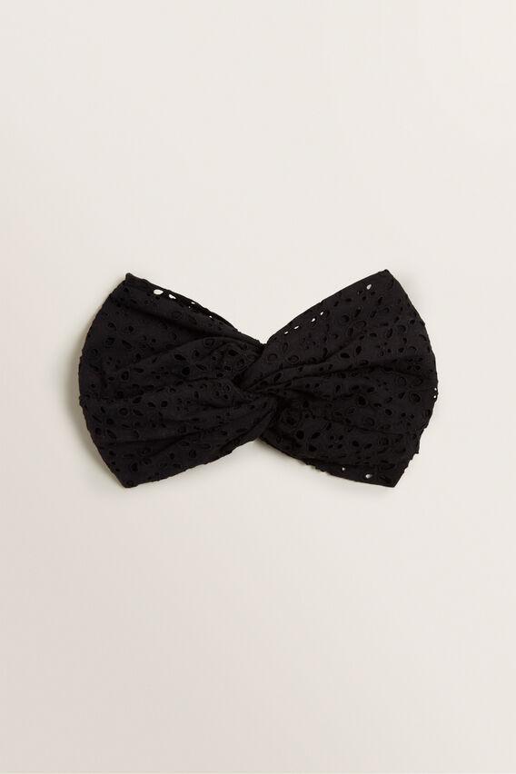 Twist Headband  BLACK  hi-res
