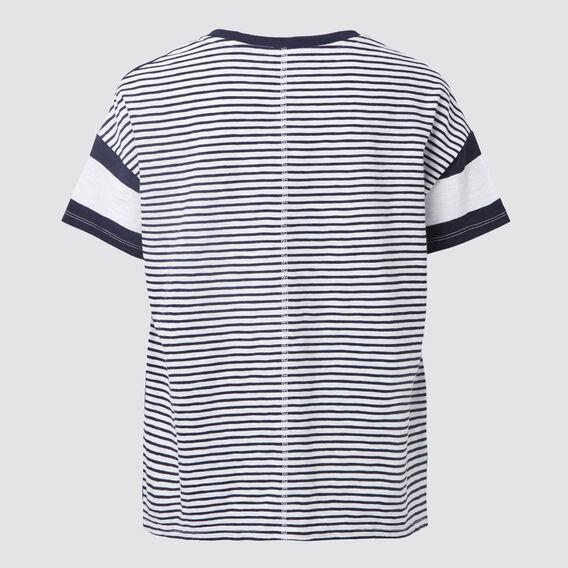 Multi Stripe Tee  MIDNIGHT/WHITE  hi-res