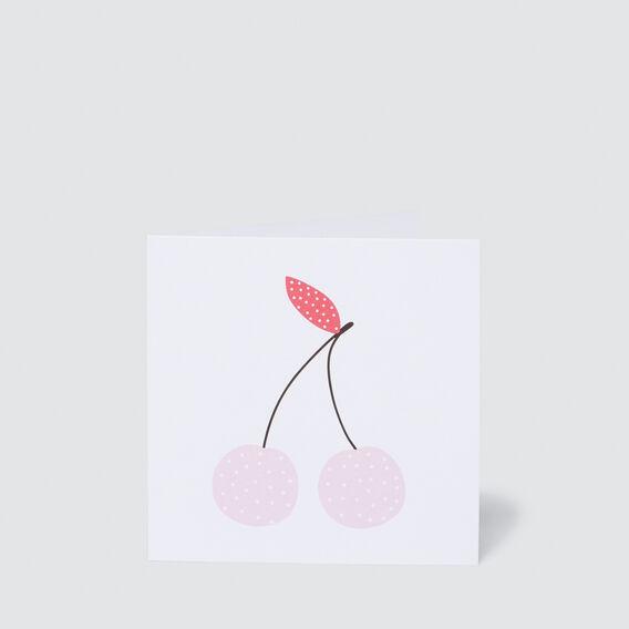 Small Cherry Card  MULTI  hi-res