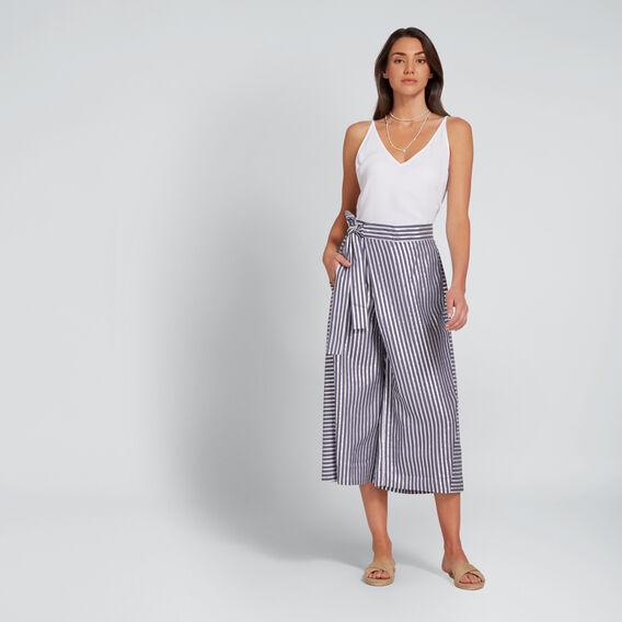 Striped Metallic Pant  METALLIC STRIPE  hi-res