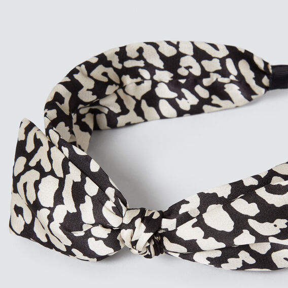 Bow Twist Headband  OCELOT  hi-res
