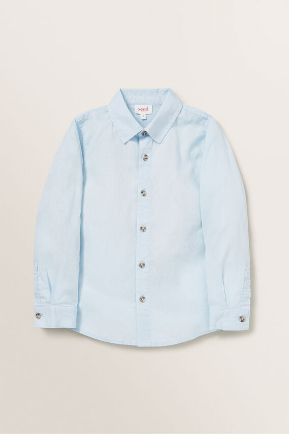 Linen Shirt  NORDIC BLUE  hi-res