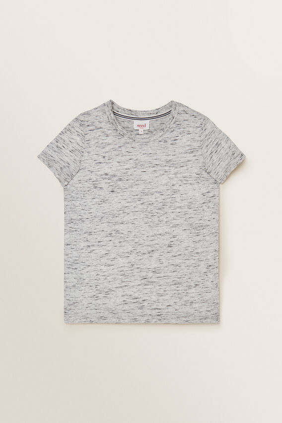 Jersey Tee  GREY SPACE DYE  hi-res